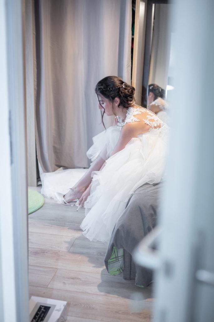 Préparatifs mariée