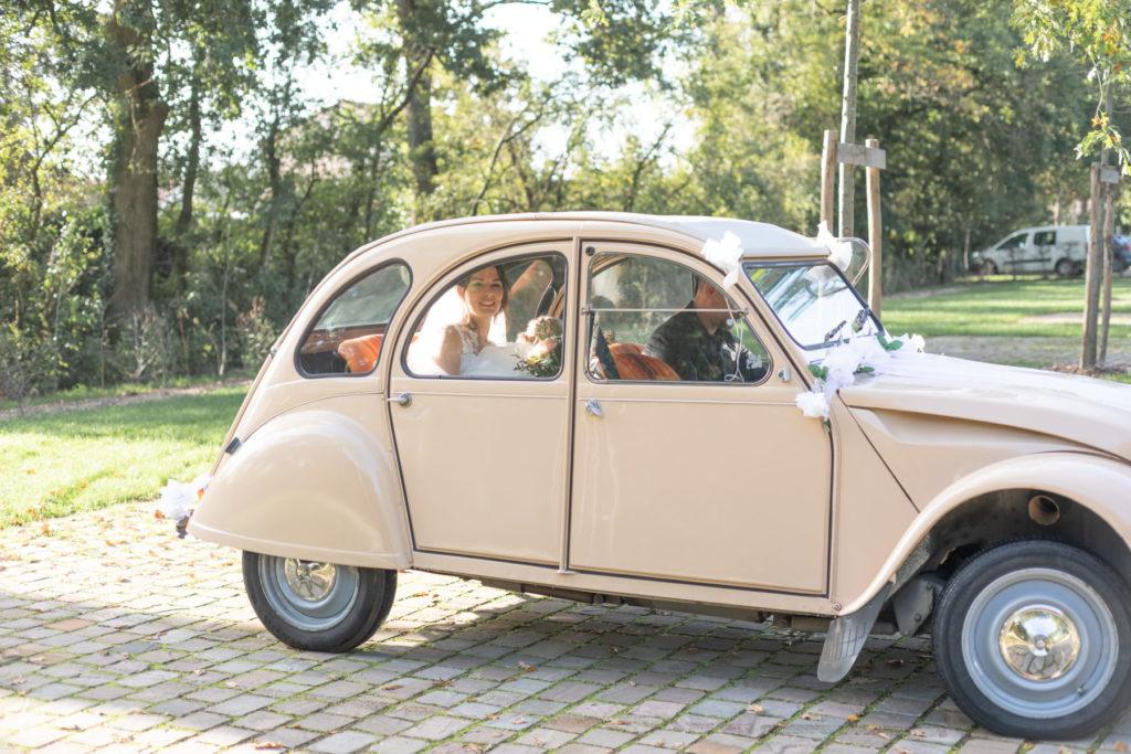 Photo de mariage parc de la Mévellière