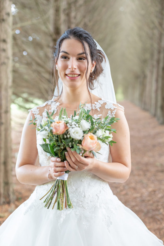 Portrait mariée au Parc de la Mévellière