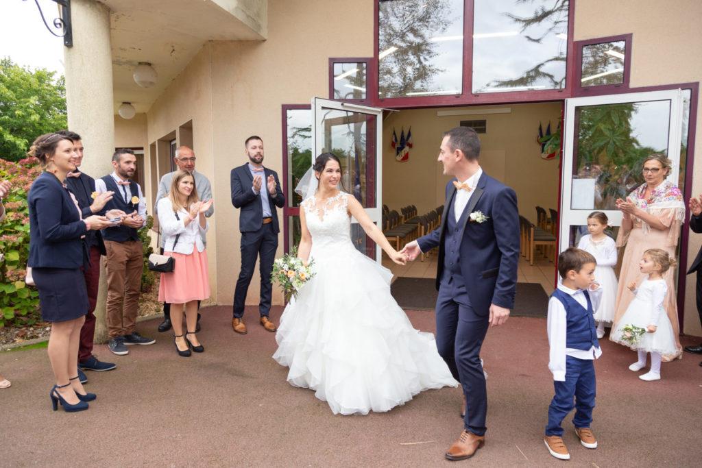 Photo mariage mairie Bouaye