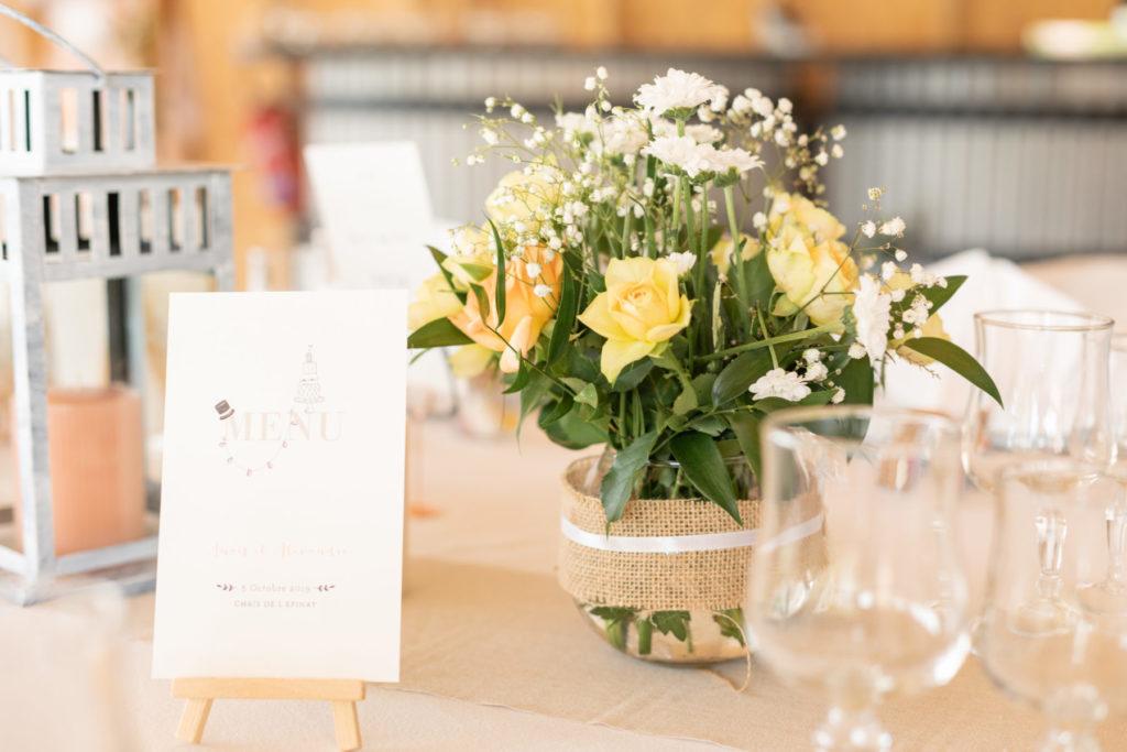 Photo décoration florale
