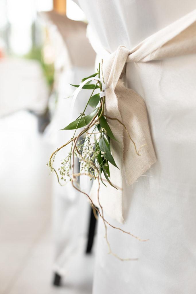 Photo décoration chaise mariage