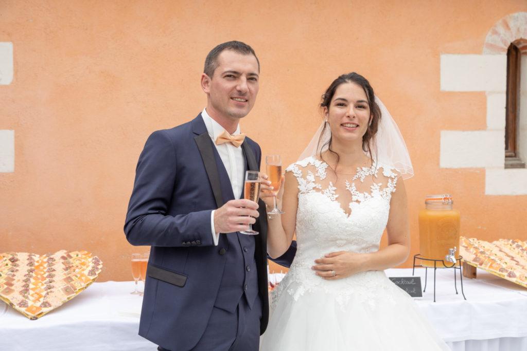 Photo cocktail mariés