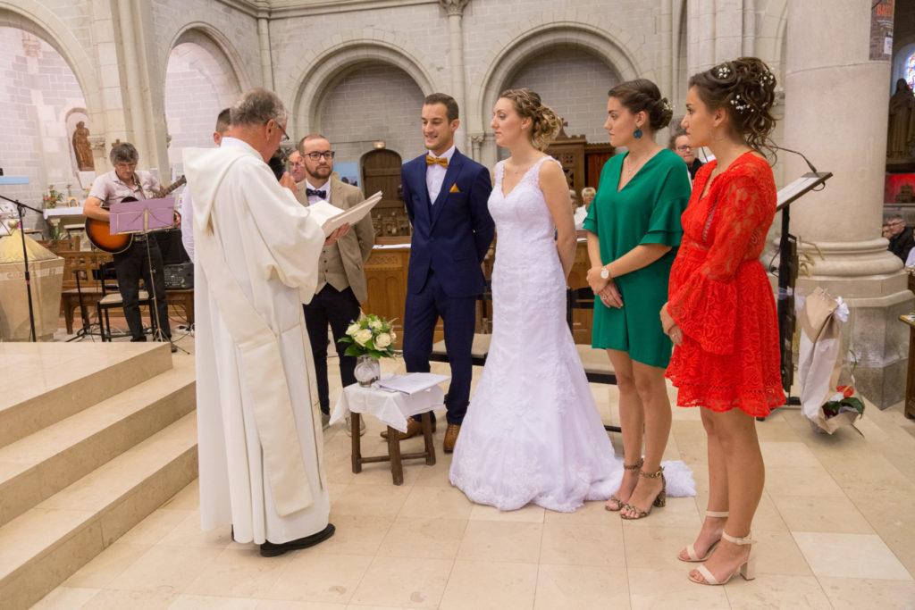 Photo cérémonie religieuse Bouvron