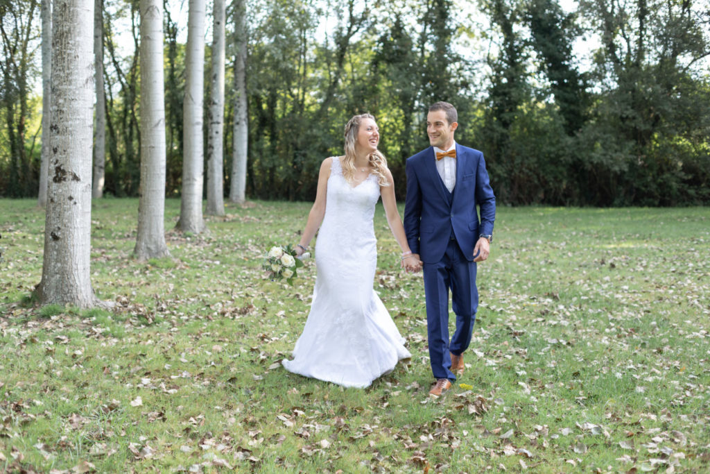 Photos de couple en forêt