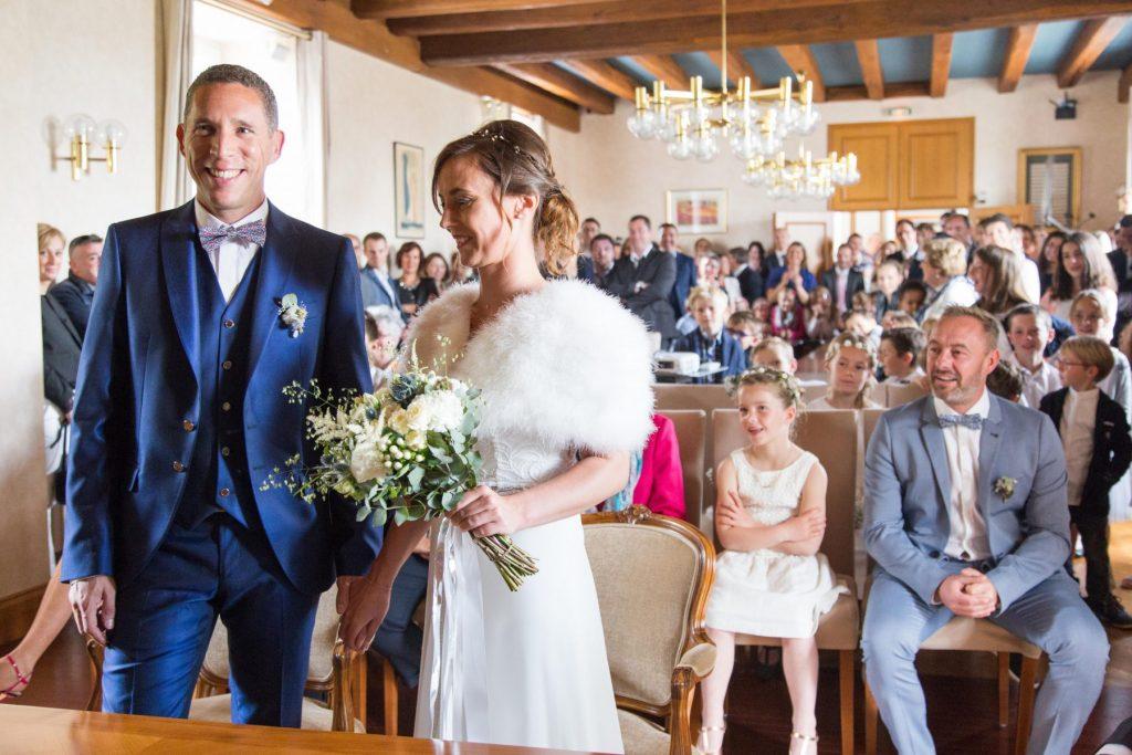 Photo de mariage mairie de Sautron