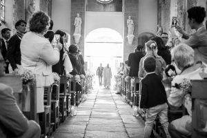Photo de mariage église Sautron