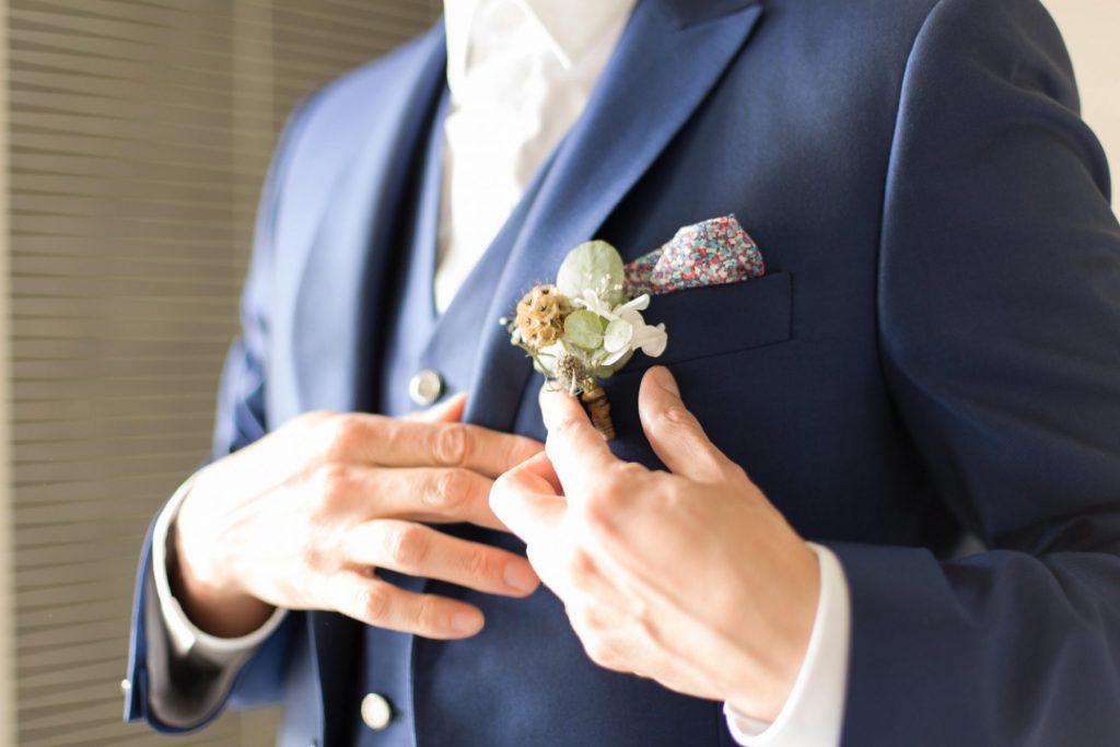 Photo préparatifs du marié à Sautron