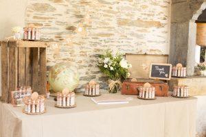 Photos décoration mariage au Manoir de la Jahotière