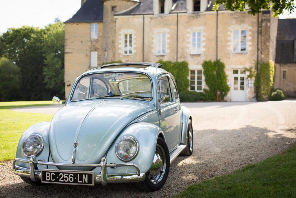 Photo de mariage au Manoir de la Jahotière