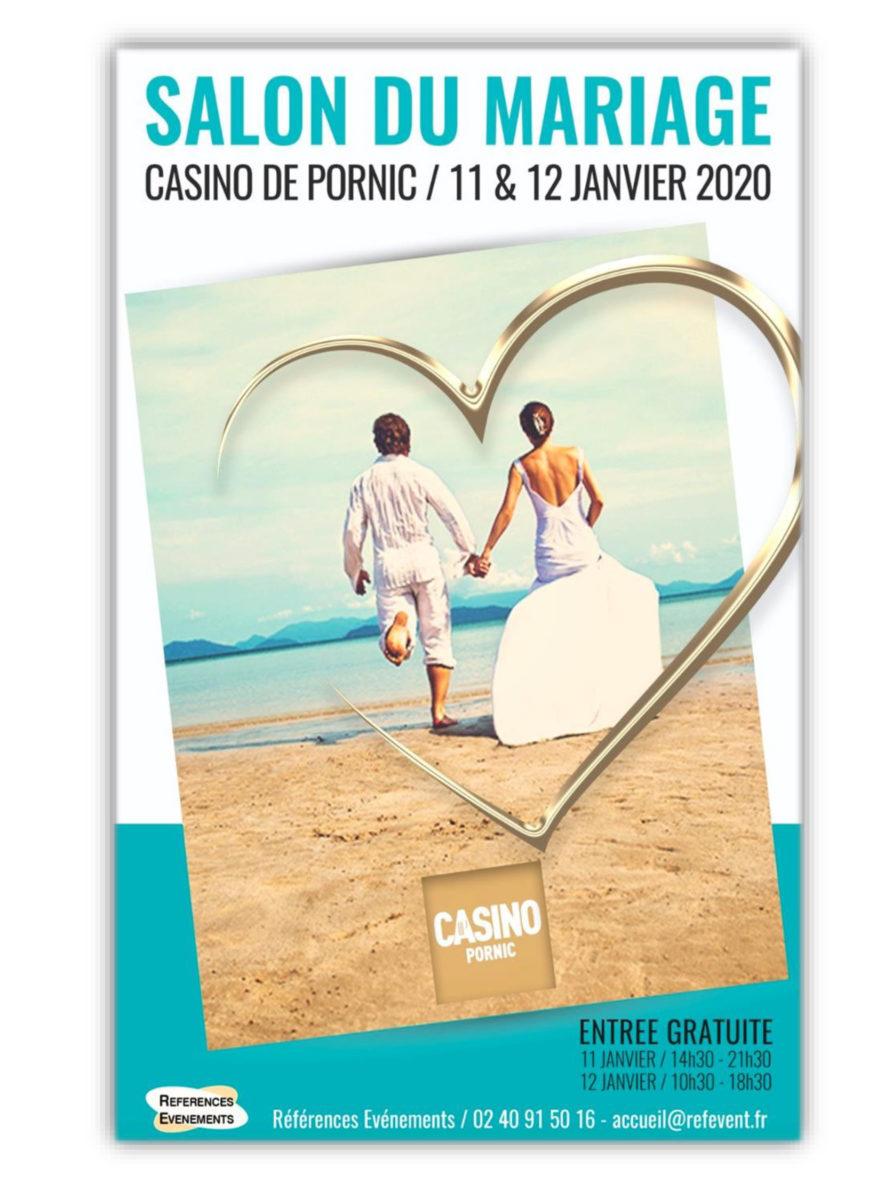 Affiche du salon du mariage de Pornic 2020
