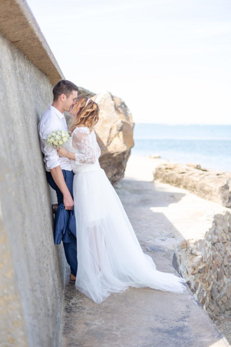 Photos de couple mariage à la plage