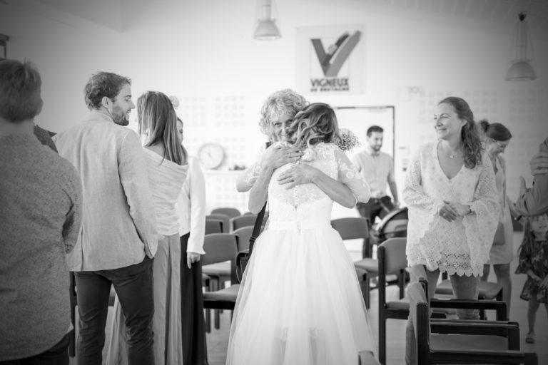 Photo de mariage mairie de Vigneux de Bretagne