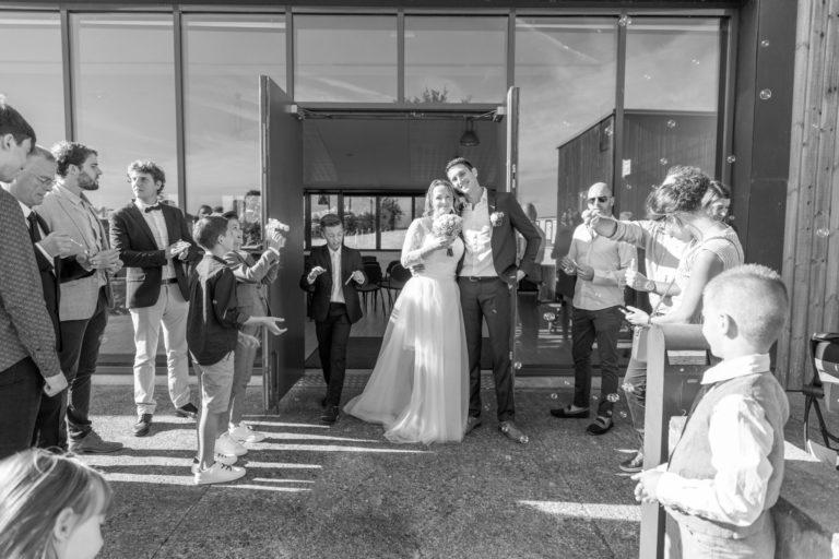 Photo de mariés mairie de Vigneux de Bretagne