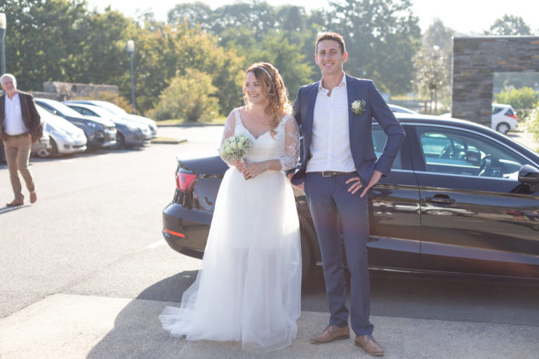 Photo de couple mariés Vigneux de Bretagne