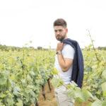Portrait homme vignes Nantes