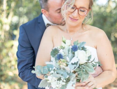Photo de couple mariage St Sébastien sur Loire