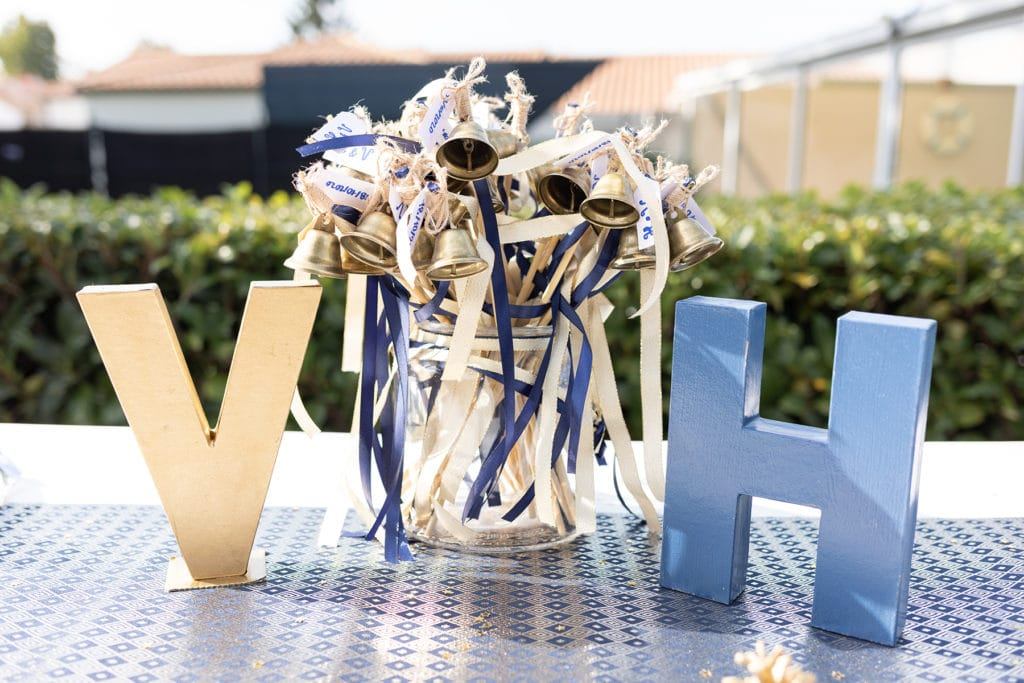 Photo décoration mariage clochettes
