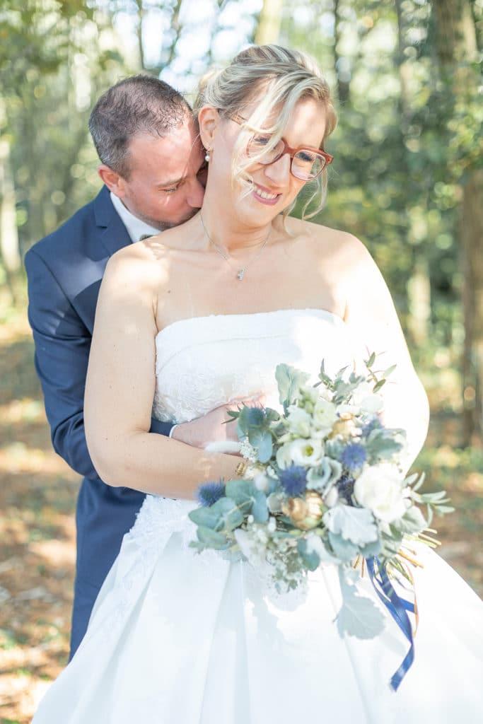 Photo de couple mariés St Sébastien sur Loire